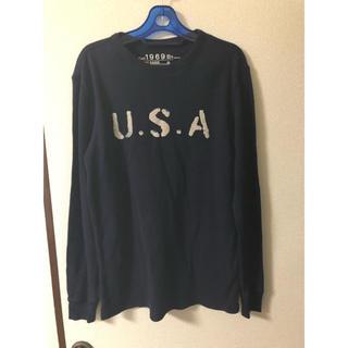 ギャップ(GAP)のGAP ロンT S(日本L)(Tシャツ/カットソー(七分/長袖))