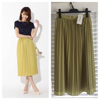 NATURAL BEAUTY BASIC - 新品✳︎natural beauty basicプリーツ スカート