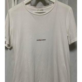 サンローラン(Saint Laurent)のサンローラン ロゴtシャツ(Tシャツ/カットソー(半袖/袖なし))