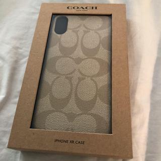 コーチ(COACH)のCOACH iPhoneXR ケース(iPhoneケース)