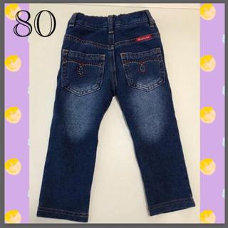 ムージョンジョン(mou jon jon)のムージョンジョン 80 ズボン デニム Gパン 子ども服(パンツ)