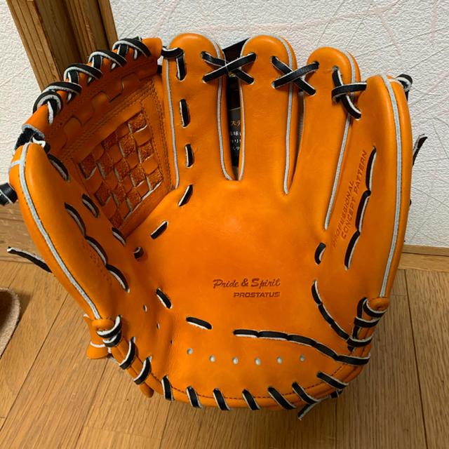 ZETT(ゼット)の最終価格 軟式 プロステイタス 源田モデル スポーツ/アウトドアの野球(グローブ)の商品写真