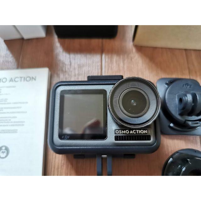 【ジロー様専用】DJI Osmo Action本体+α(バッテリー等) スマホ/家電/カメラのカメラ(コンパクトデジタルカメラ)の商品写真