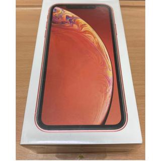アイフォーン(iPhone)の【juni様専用】iPhone XR 256GB コーラル SIMフリー(スマートフォン本体)
