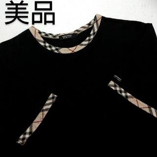 バーバリーブラックレーベル(BURBERRY BLACK LABEL)の🖤大人気作Tシャツ🖤美品🖤 (Tシャツ/カットソー(半袖/袖なし))