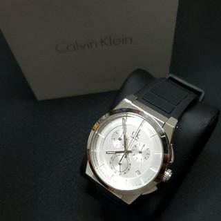 カルバンクライン(Calvin Klein)の美品 カルバンクライン K2S371 メンズ腕時計 クロノグラフ(腕時計(アナログ))