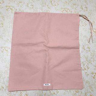 ミュウミュウ(miumiu)のmiumiu ミュウミュウ 保存袋 巾着(ショップ袋)