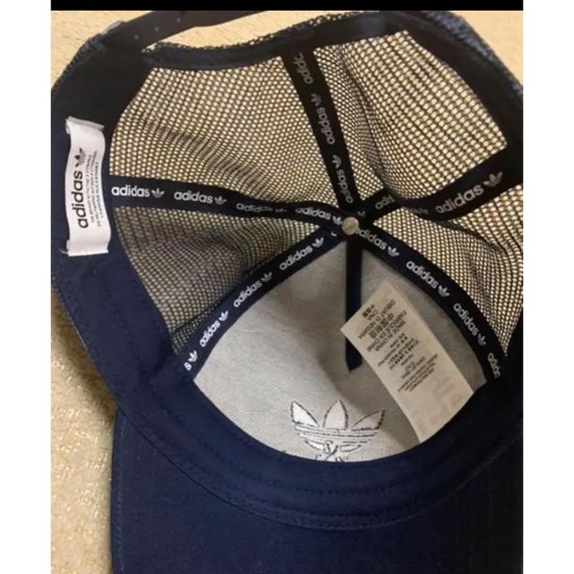 adidas(アディダス)のアディダス オリジナルス ネイビー キャップ メンズの帽子(キャップ)の商品写真