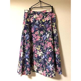 ジャスグリッティー(JUSGLITTY)のジャスグリッティー  花柄スカート(ロングスカート)