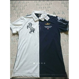 アエロナウティカミリターレ(AERONAUTICA MILITARE)のAERONAUTICA MILITARE ポロシャツ  未使用(ポロシャツ)