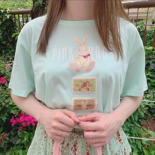 ピンクハウス(PINK HOUSE)のPINK HOUSE うさぎTシャツ(Tシャツ(半袖/袖なし))