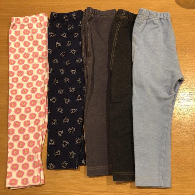 UNIQLO(ユニクロ)のユニクロ レギンスパンツ キッズ/ベビー/マタニティのキッズ服女の子用(90cm~)(パンツ/スパッツ)の商品写真