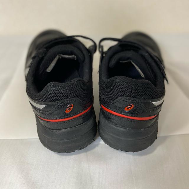 asics(アシックス)のアシックス 安全靴ウィンジョブ 27.0cm 黒×銀 安全靴 3回程着用 箱あり メンズの靴/シューズ(その他)の商品写真