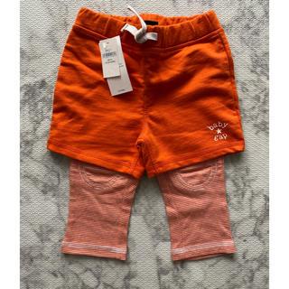 ベビーギャップ(babyGAP)の新品 baby gap 重ね着風パンツ ハーフパンツ ショートパンツ レギンス(パンツ)