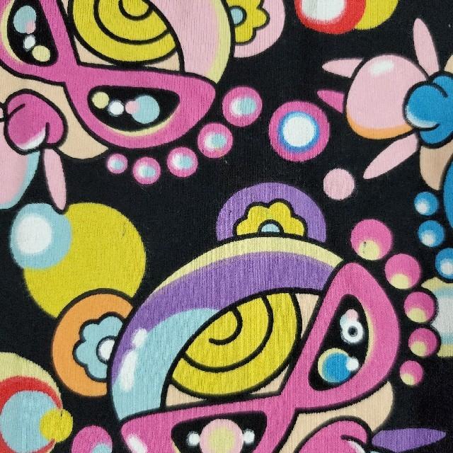 HYSTERIC MINI(ヒステリックミニ)の新品 ヒスミニ 総柄ロンT 黒 キッズ/ベビー/マタニティのキッズ服男の子用(90cm~)(Tシャツ/カットソー)の商品写真