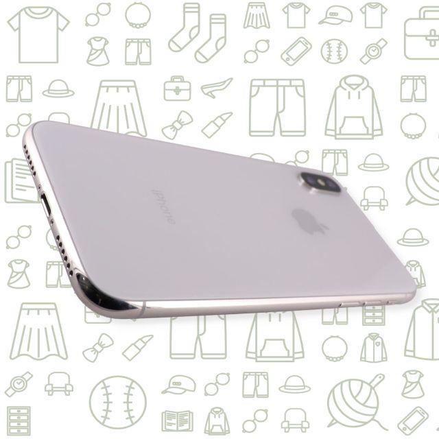 iPhone(アイフォーン)の【C】iPhoneX/64/SIMフリー スマホ/家電/カメラのスマートフォン/携帯電話(スマートフォン本体)の商品写真