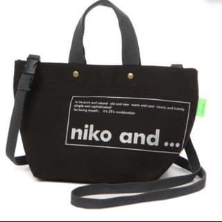 ニコアンド(niko and...)のニコアンド nico and... オリジナル トートバッグ(トートバッグ)