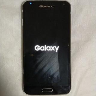 ギャラクシー(Galaxy)の【ジャンク】GALAXY S5 Black 32 GB docomo(スマートフォン本体)
