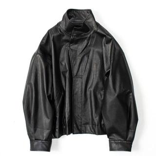 ワンエルディーケーセレクト(1LDK SELECT)のstein over sleeve fake leather jacket(レザージャケット)