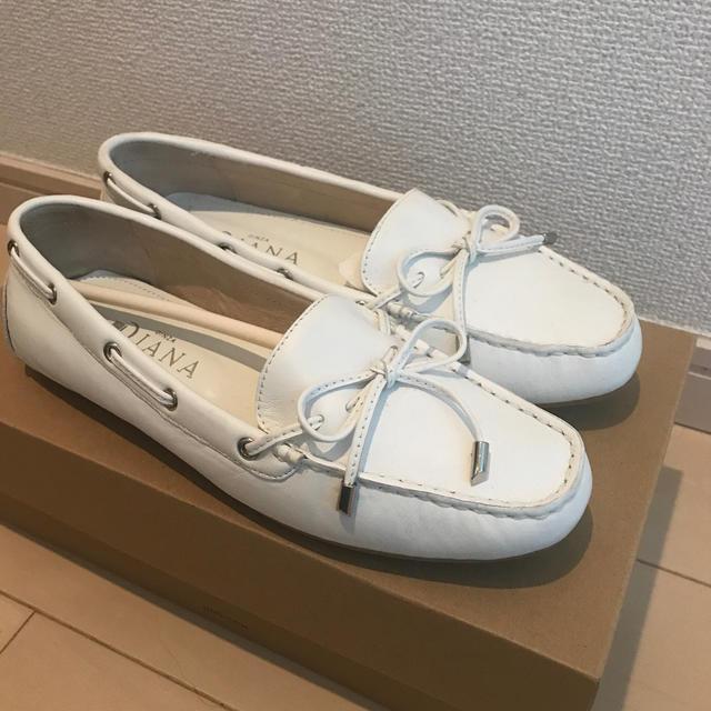 DIANA(ダイアナ)のダイアナ  DAIANA ドライビングシューズ フラットシューズ レディースの靴/シューズ(ローファー/革靴)の商品写真