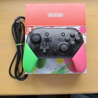 Nintendo Switch - Nintendo Switch プロコントローラースプラトゥーン2 エディション