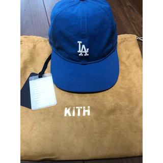 kith dodgers LA new era キャップ 帽子 ブルー