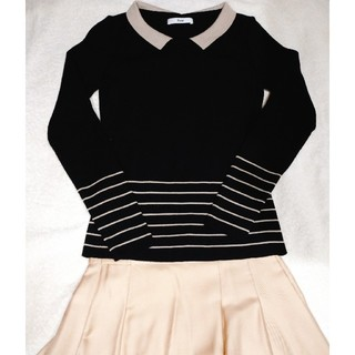 ルネ(René)の未使用☆Rene ルネ ウール 襟つきカットソー セーター(ニット/セーター)