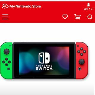 Nintendo Switch - 新品Nintendoストア限定 Switch 本体 バッテリー長持ちモデル