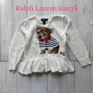 POLO RALPH LAUREN - ☆ラルフローレン☆ペプラムセーターサイズ3t