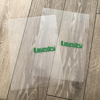 LAUNDRY Laundry クリアファイル 2枚セット