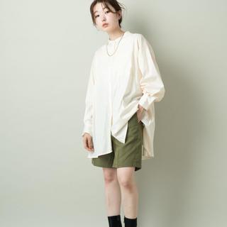 カスタネ(Kastane)の新品カスタネ レザーライクシャツ(シャツ/ブラウス(長袖/七分))