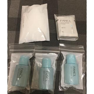 FANCL - ファンケル マイルドクレンジングオイル 3本、洗顔パウダー、洗顔ネット