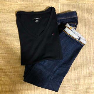 トミーヒルフィガー(TOMMY HILFIGER)のTOMMYFILFIGER vネック半袖(Tシャツ(半袖/袖なし))