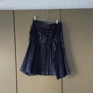 イッセイミヤケ(ISSEY MIYAKE)のISSEY MIYAKE  黒スカート(ひざ丈スカート)