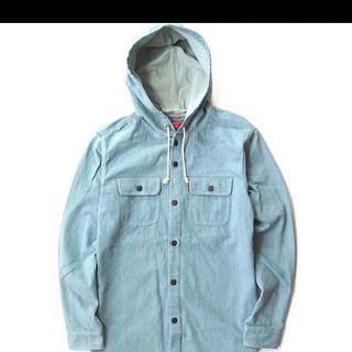 Supreme - 超レア Supreme Denim Hooded Shirt