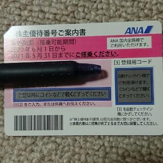 エーエヌエー(ゼンニッポンクウユ)(ANA(全日本空輸))のANA 株主優待券 2021年5月31日まで有効(その他)