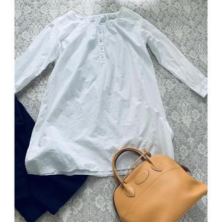 ミナペルホネン(mina perhonen)のトゥジューのオーバーシャツ(シャツ/ブラウス(長袖/七分))