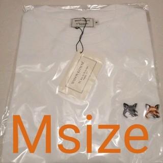 MAISON KITSUNE' - 新品 メゾンキツネ Tシャツ ダブル フォックス