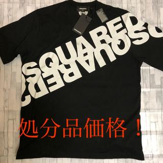 ディースクエアード(DSQUARED2)のDSQUARED2 ディースクエアード 新品完売品ミラーロゴ  M ブラック(Tシャツ/カットソー(半袖/袖なし))