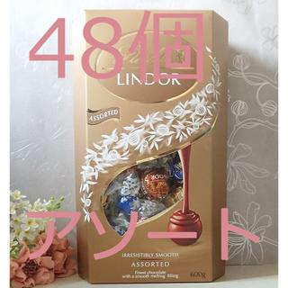 Lindt - 48個 リンツ チョコレート 600g Lindt