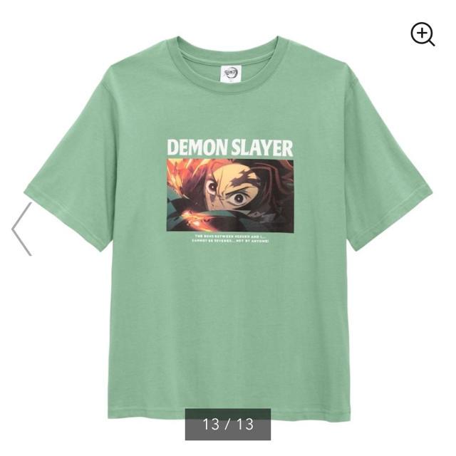 GU(ジーユー)のGU 鬼滅の刃 Tシャツ レディースのトップス(Tシャツ(半袖/袖なし))の商品写真