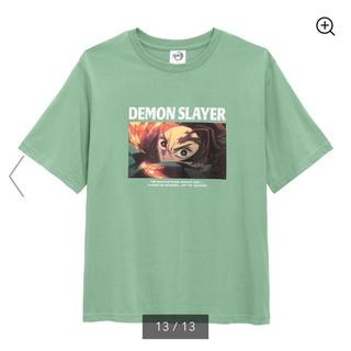 GU - GU 鬼滅の刃 Tシャツ