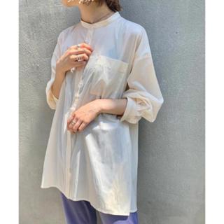 カスタネ(Kastane)のkastane レザーライクシャツ(シャツ/ブラウス(長袖/七分))