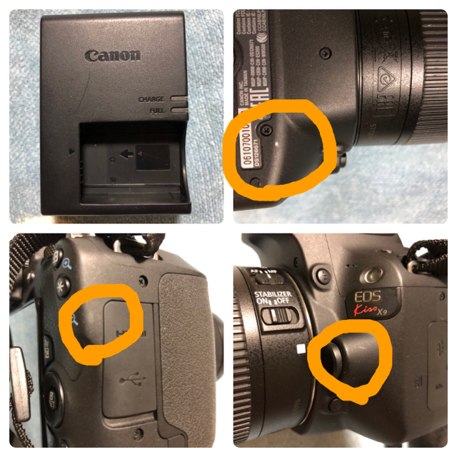 Canon(キヤノン)の ◎まーぼー様専用Canon EOS Kiss X9 ブラック スマホ/家電/カメラのカメラ(デジタル一眼)の商品写真