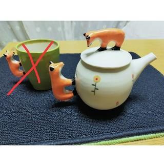 小堤晶子さん ティーポットとマグカップのセット