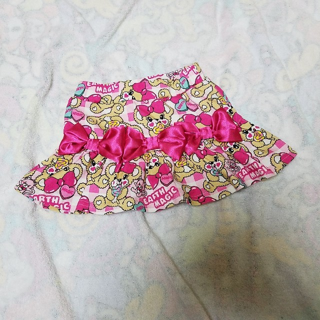 EARTHMAGIC(アースマジック)のアースマジック 100 ロリポップ スカパン キッズ/ベビー/マタニティのキッズ服女の子用(90cm~)(スカート)の商品写真