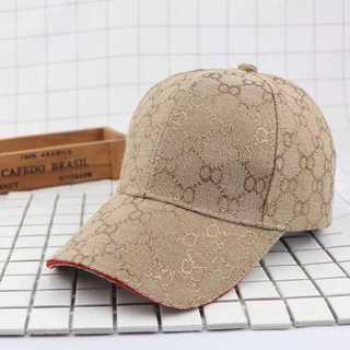 帽子 キャップ ゴールド グッチチック レディース メンズ ペアルック(キャップ)