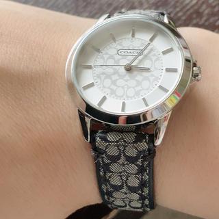コーチ(COACH)の売り切りです❗ 美品 コーチ シグネチャー 腕時計 レディース メンズ(腕時計)