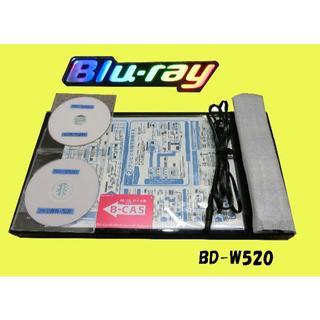 シャープ(SHARP)のシャープブルーレイレコーダー【BD-W520】(ブルーレイプレイヤー)