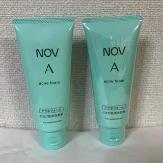 ノブ(NOV)のノブ A アクネフォーム 洗顔料 70g 2個セット(洗顔料)